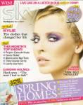 KYLIE MINOGUE - Sky Magazine - C4/170