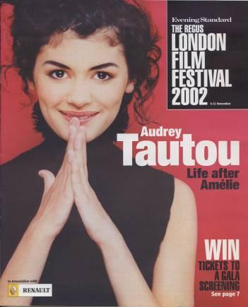 AUDREY TAUTOU - Evening Standard Magazine - C3/57