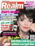 JOAN COLLINS - Woman's Realm Magazine - C4/162