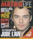 JUDE LAW - Metrolife Magazine - C9/352