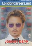 JOHNNY DEPP - London Careers Magazine - C3/65