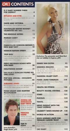 SURANNE JONES - Vintage OK! Magazine 2003